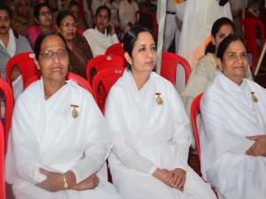 BK Brij Didi with BK Pushap Didi & BK Sudarshan Didi