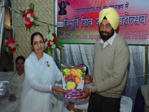 Chief Guest Sardar Surinder Pal SP(H) Barnala