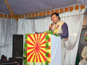 Guest of honour Sh. Amarjit Khipal ji ITAX Inspector Barnala