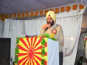 Chief Guest Sardar Surinder Pal SP (H) Barnala