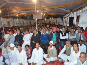 Public with BK Deepak Bhai ji