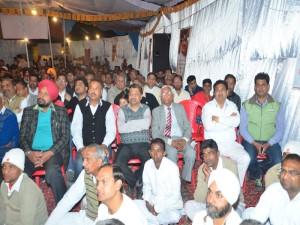 Public with BK Sanjeev Bhai Ji
