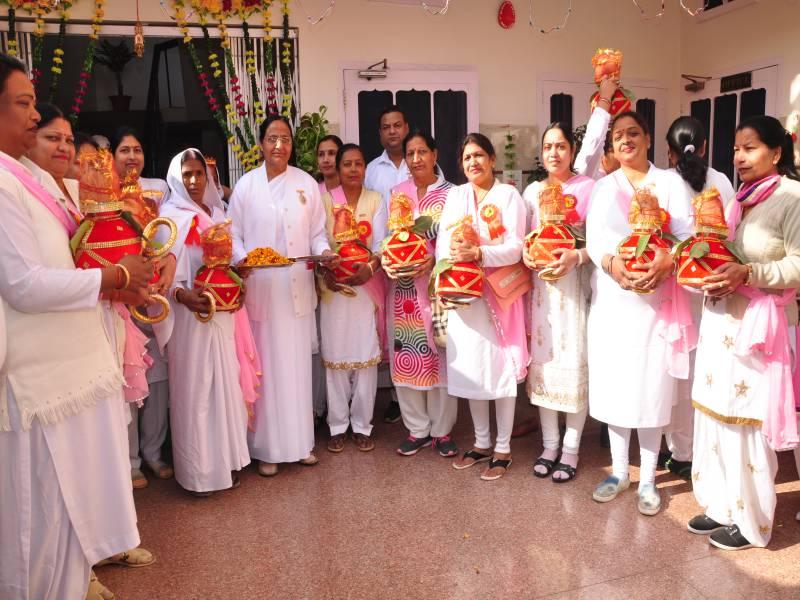 BK Pushap Didi with Barnala Sisters