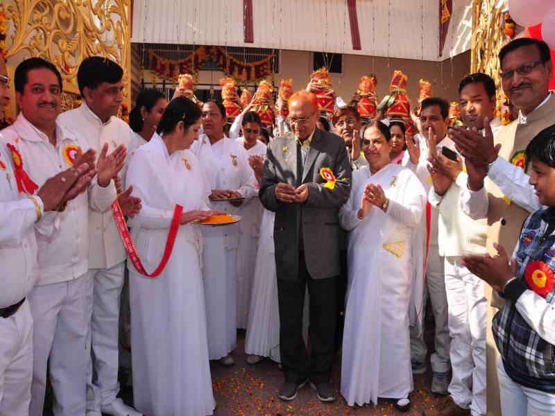 Chief Guest Dr Hari Gopal Ji , BK Brij Didi