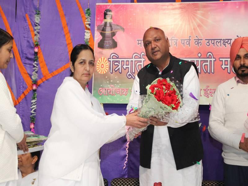 Guest of Honour : Dhiraj, Aadti Association Pradhan Barnala