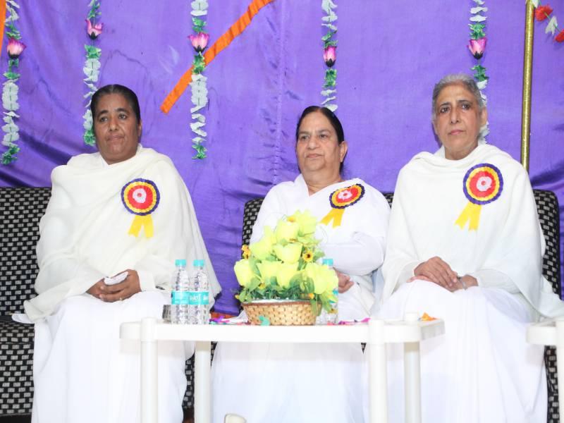 BK Dr Seema Behan ji, BK Brij Didi, BK Rajinder Behan Ji