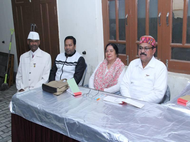 BK Chaudhary ji, BK Ramashankar ji Manager OBC